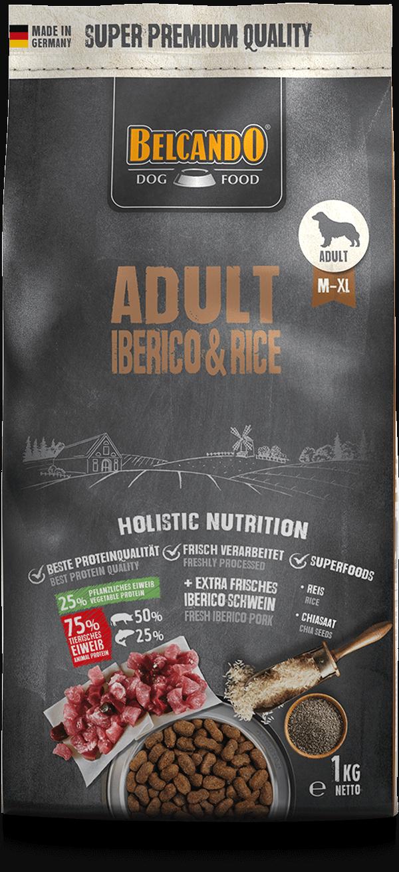 Belcando-Adult-Iberico-Rice-1kg-front
